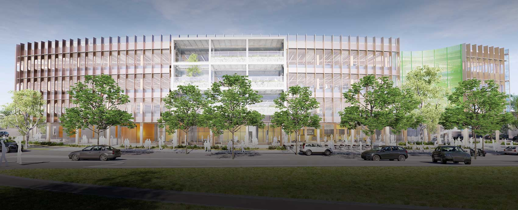 Artistic impression of the Bendigo GovHub