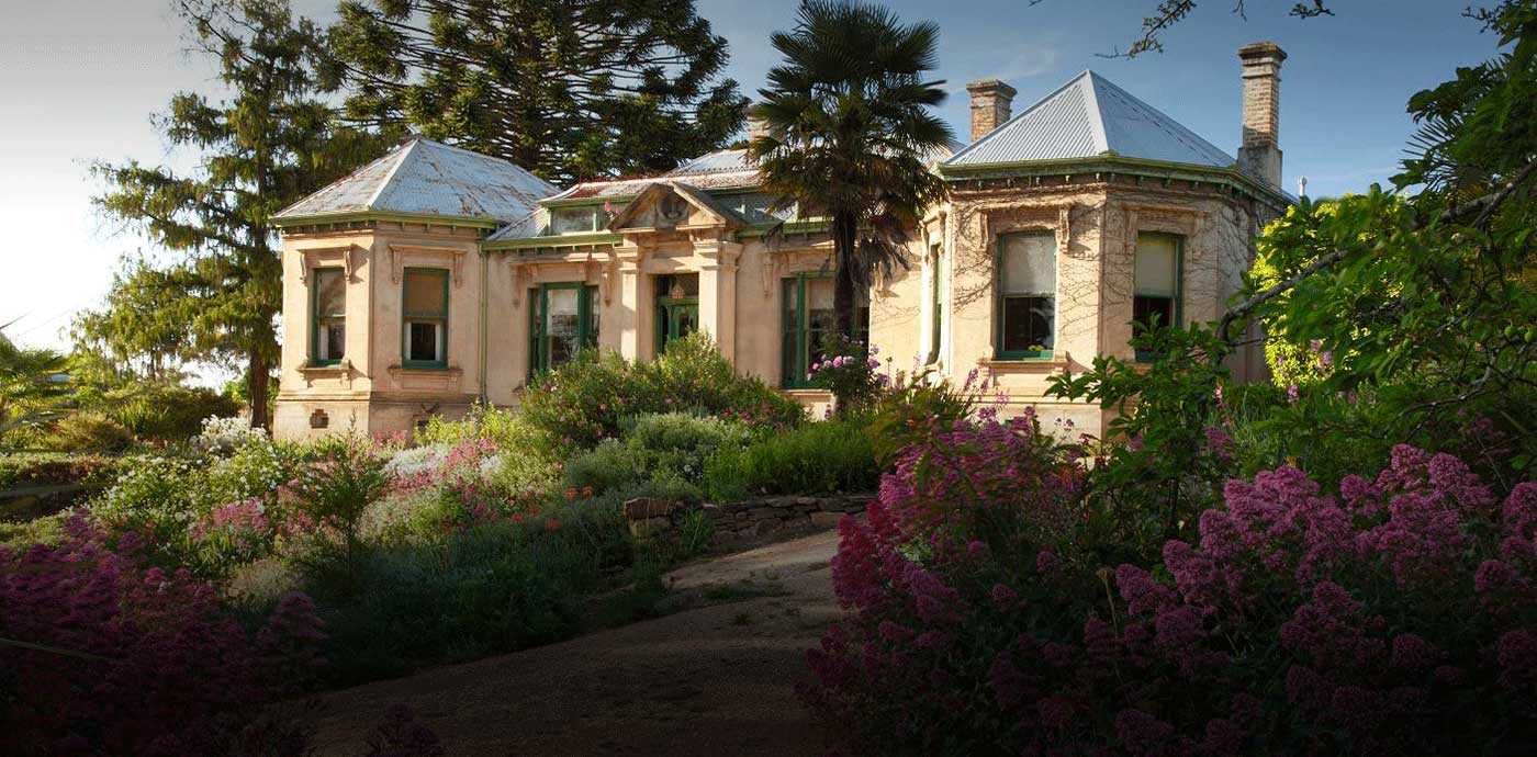 Buda historic home and garden in Castlemaine