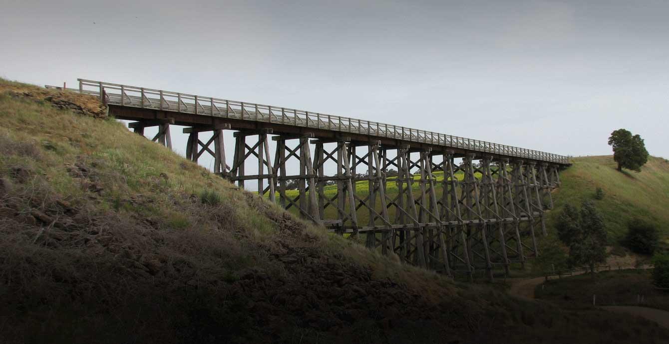 Trestle Bridge, Newtown, Golden Plains