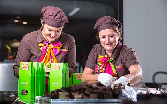 Staff at the Great Ocean Road Chocolaterie